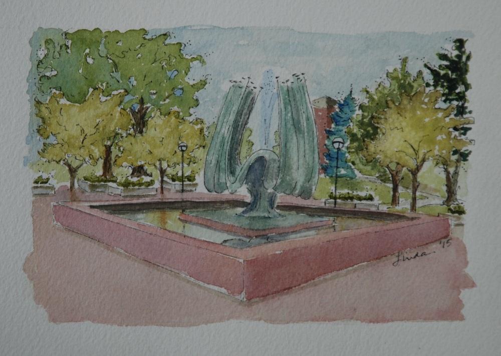 MU fountain