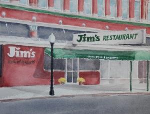 Jim's painting