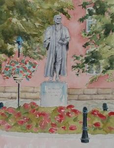 John Marshall painting