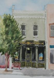 Old Main Emporium painting