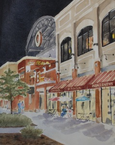 Pullman Square Max painting