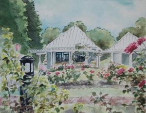 ritter park rose garden painting3
